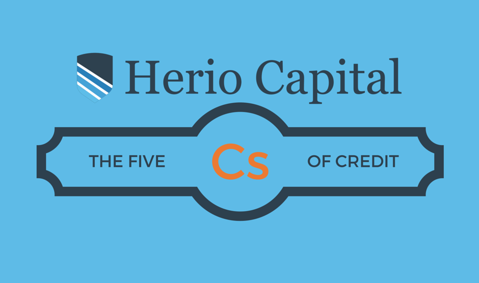 The 5 Cs of Credit