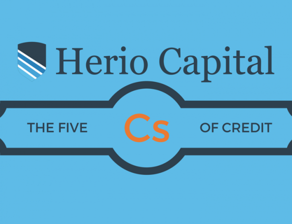 The 5 Cs of Credit – Infographic